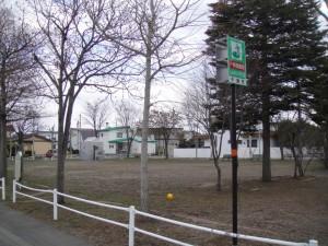 北海道屈指の高級住宅地で前は白樺の大きな公園