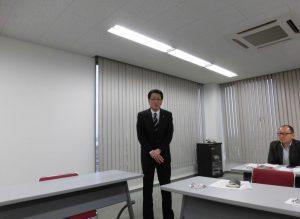(一社)岡山県宅建協会の山上会長も参加されご挨拶